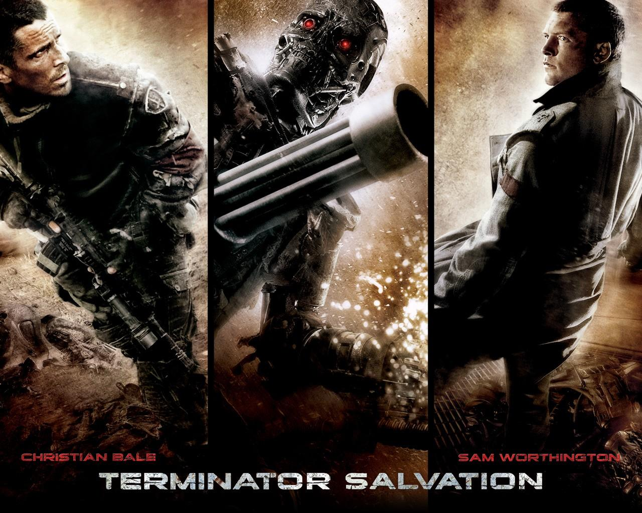 Обои Terminator Salvation 1280x1024