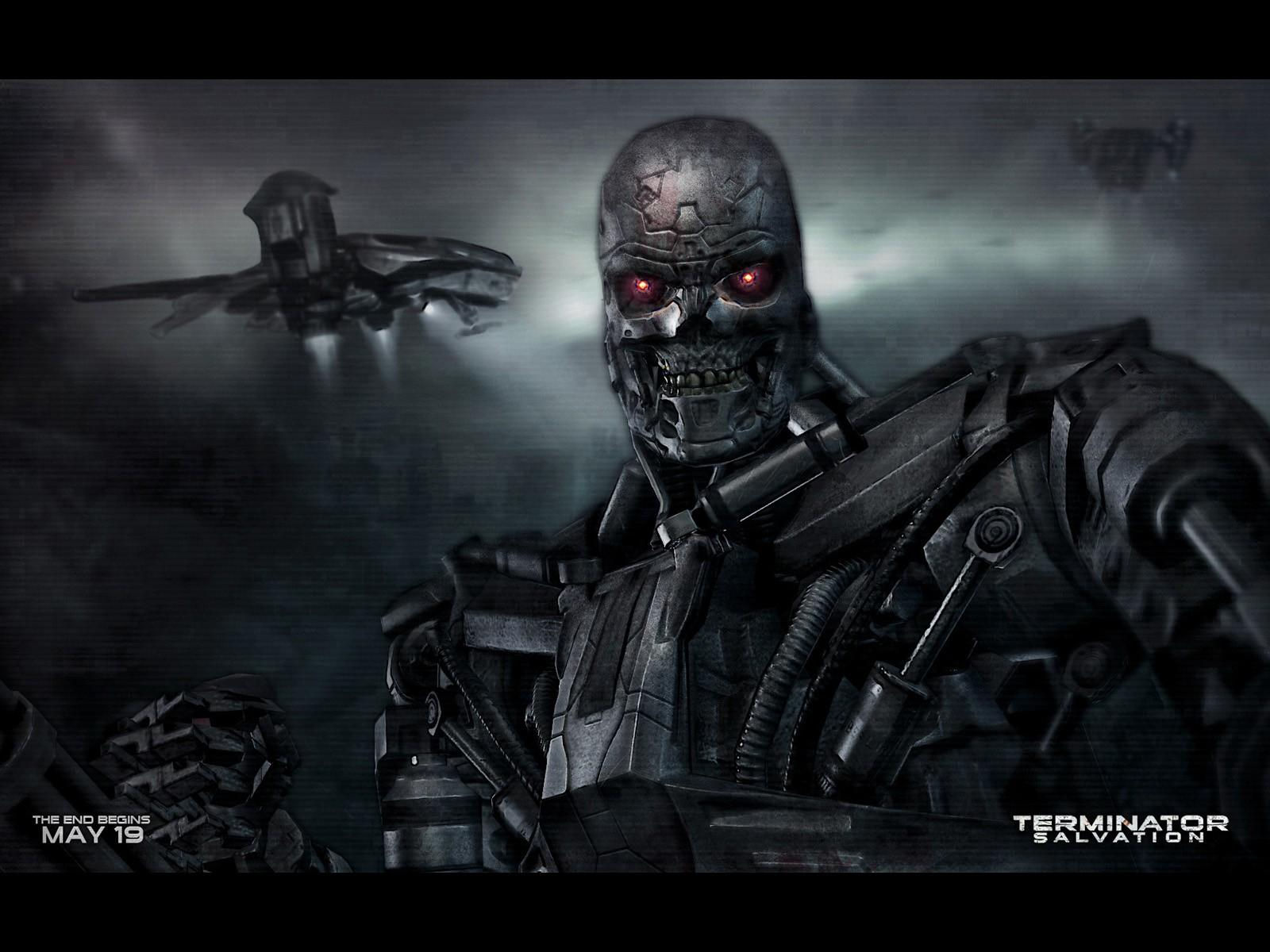 Обои Terminator Salvation The Future Begins 1600x1200