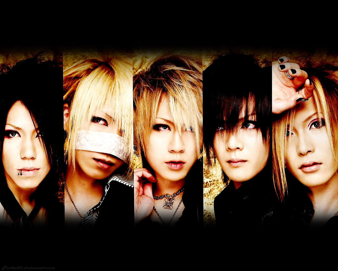 Обои The GazettE 1280x1024