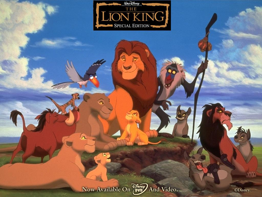 Обои The Lion King 1024x768