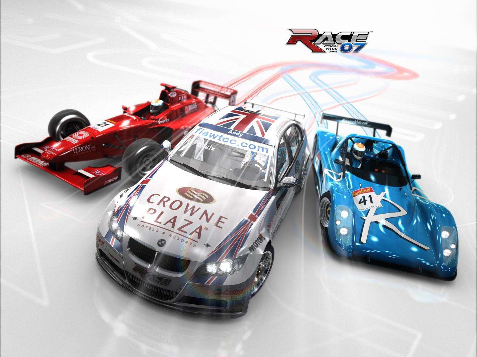 Обои The official WTCC Game 1600x1200