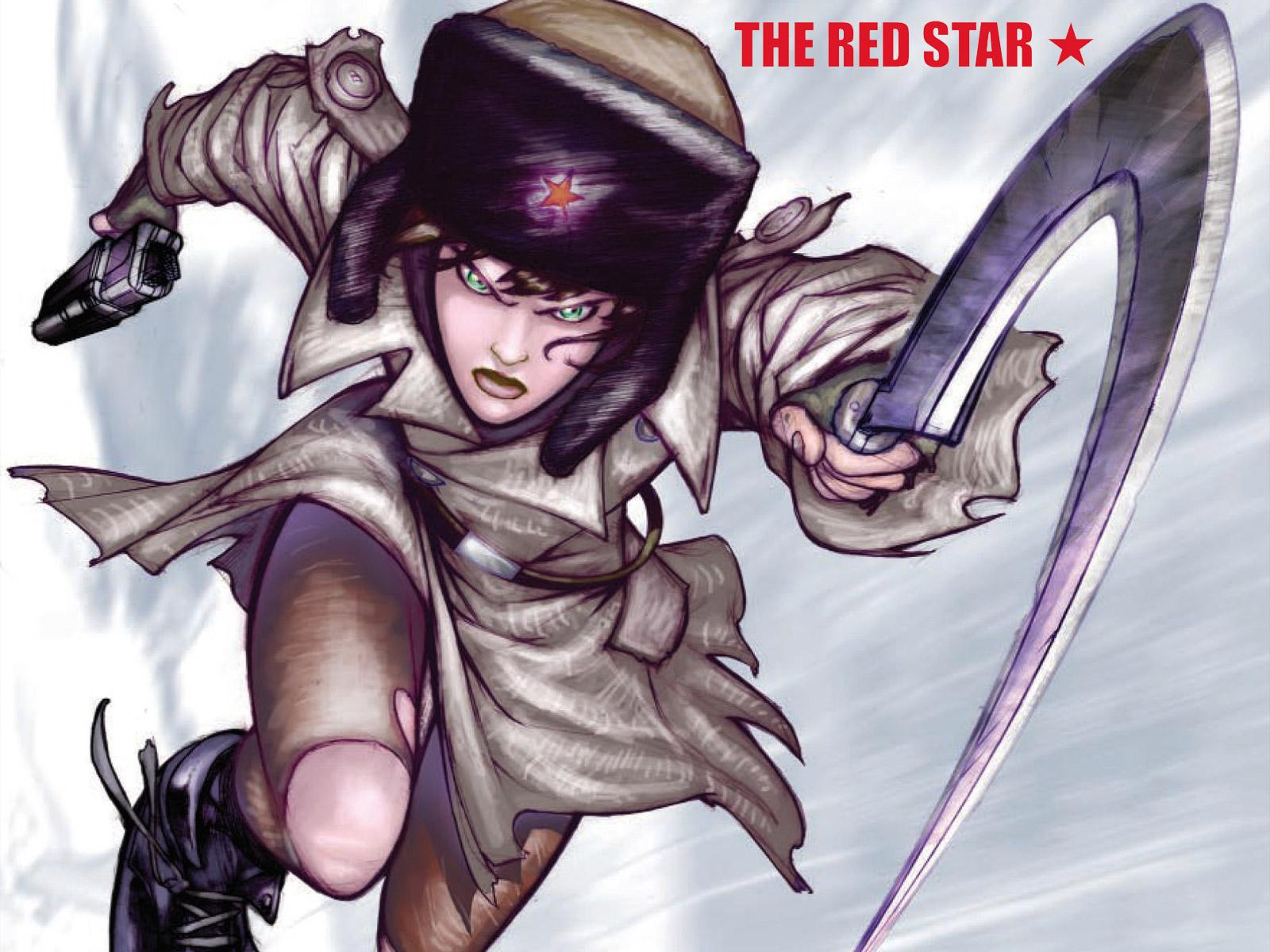 Обои The Red Star 1600x1200