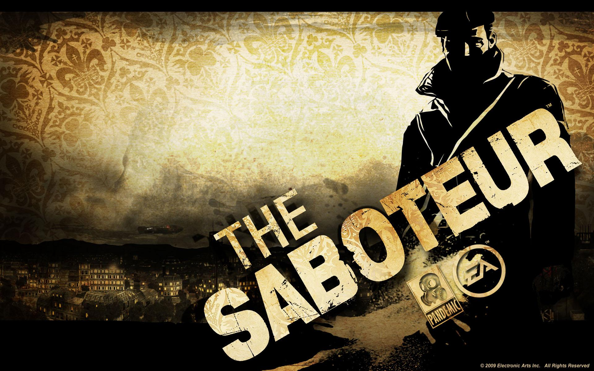Обои The Saboteur 1920x1200
