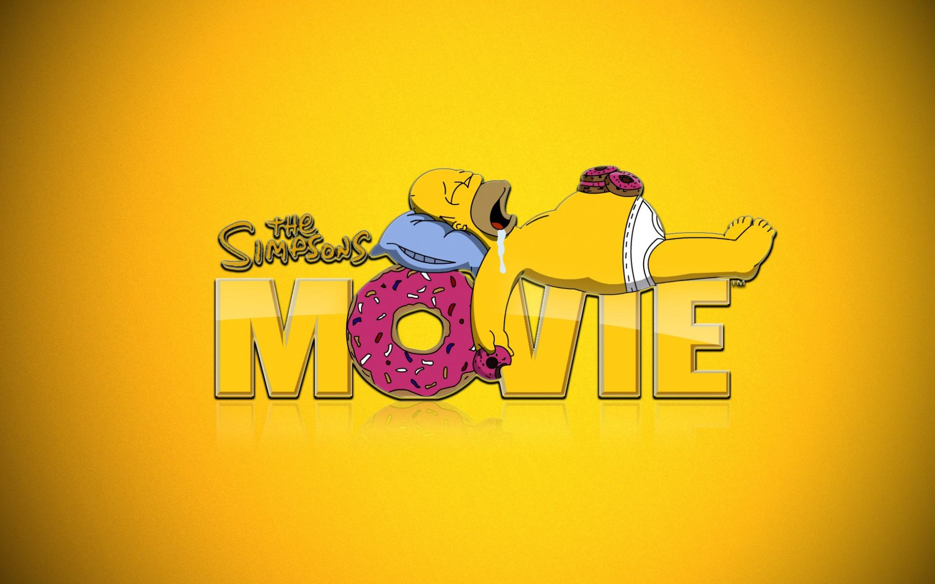 Обои The Simpsons Movie 1920x1200