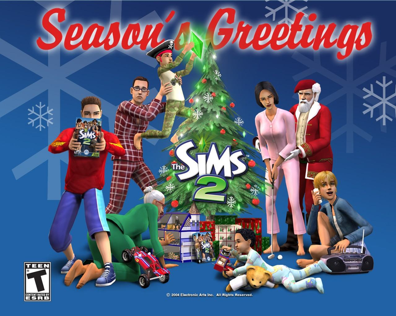 Обои The Sims 2: Seasons 1280x1024