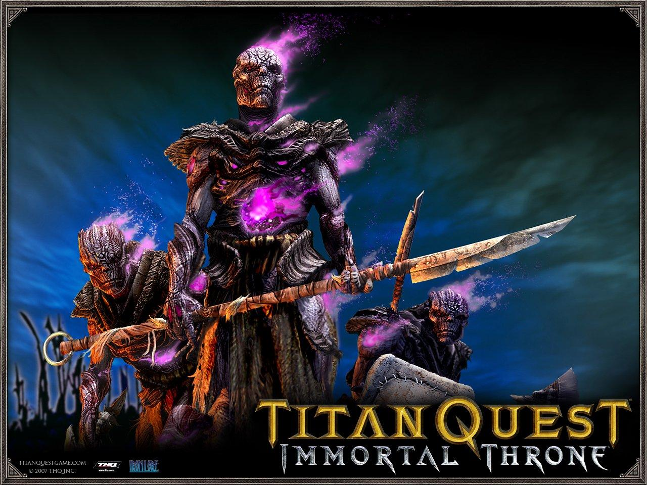 Обои Titan Quest: Immortal Throne 1280x960