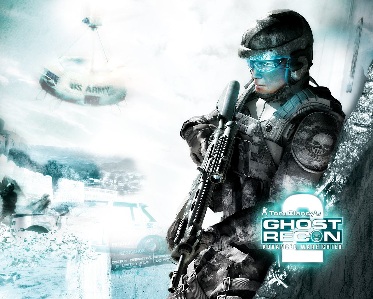 Обои Tom Clancy's Ghost Recon: Advanced Warfighter 2 1280x1024