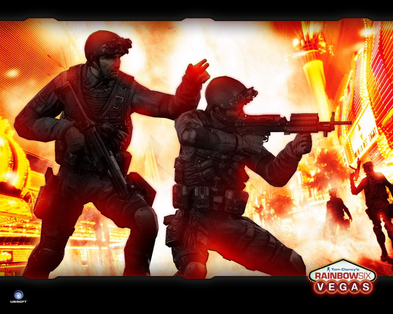 Обои Tom Clancy's Rainbow Six: Vegas 1280x1024
