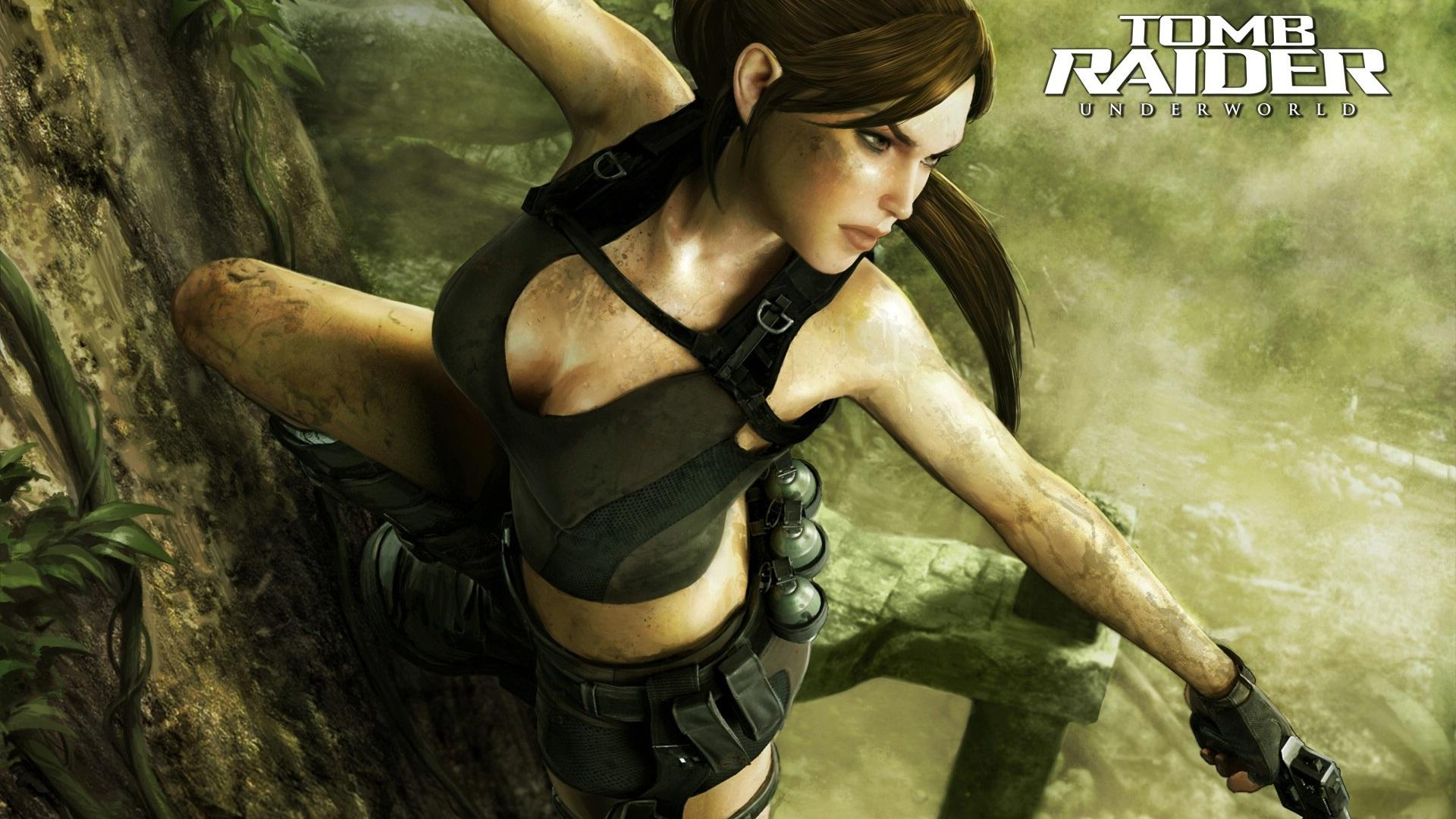 Обои Tomb Raider Underworld 1920x1080
