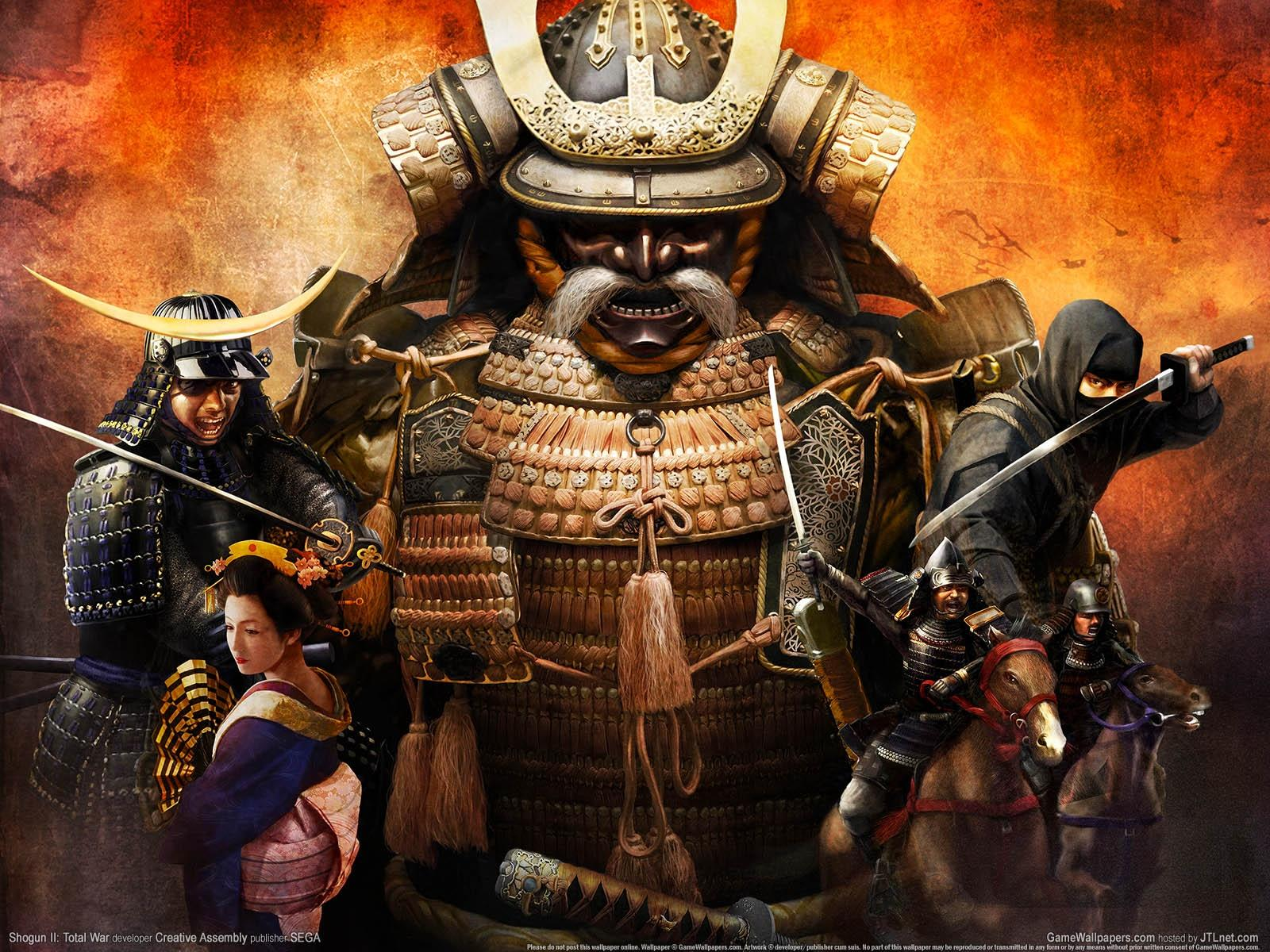 Обои Total War Shogun 2 1600x1200