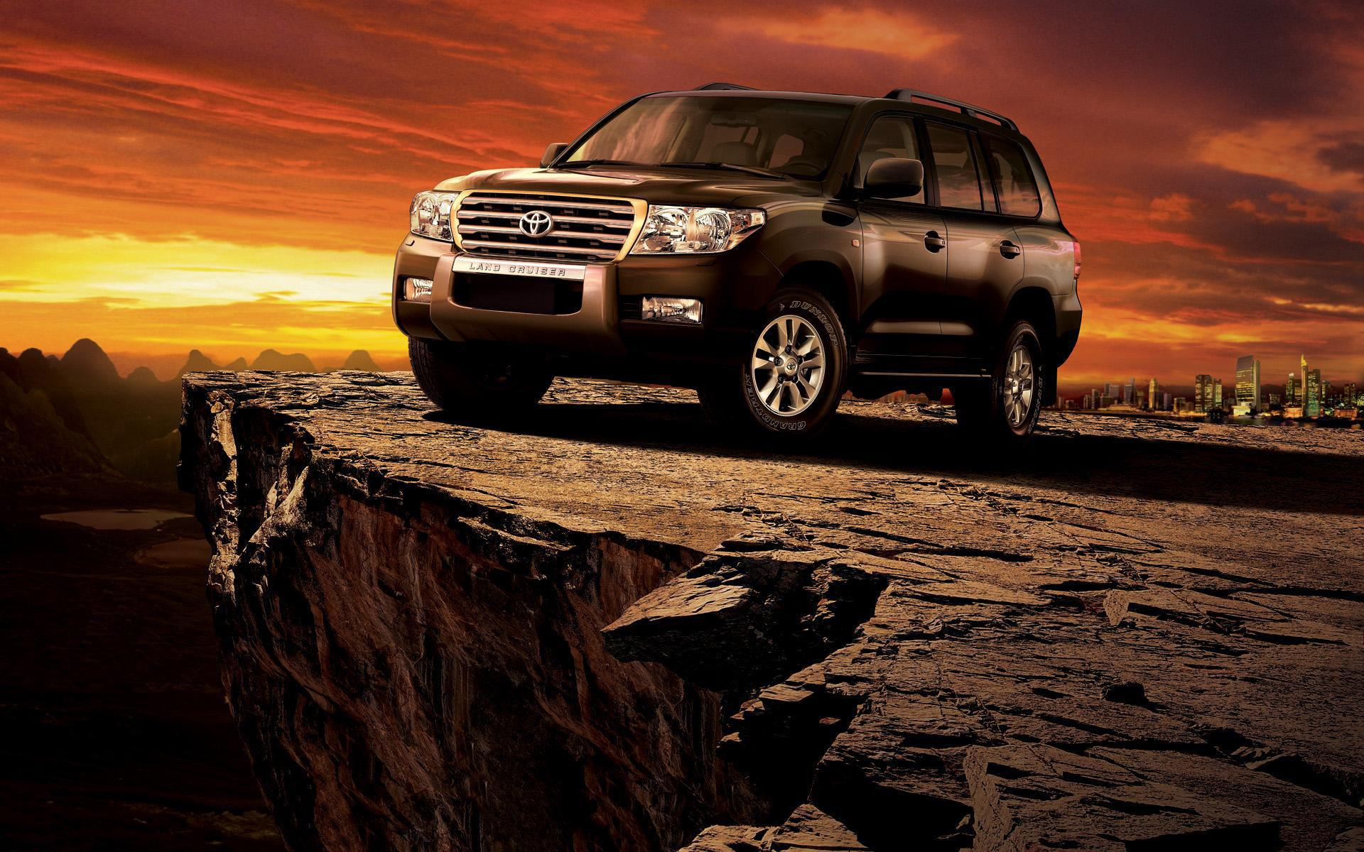 Обои Toyota Land Cruiser 1920x1200