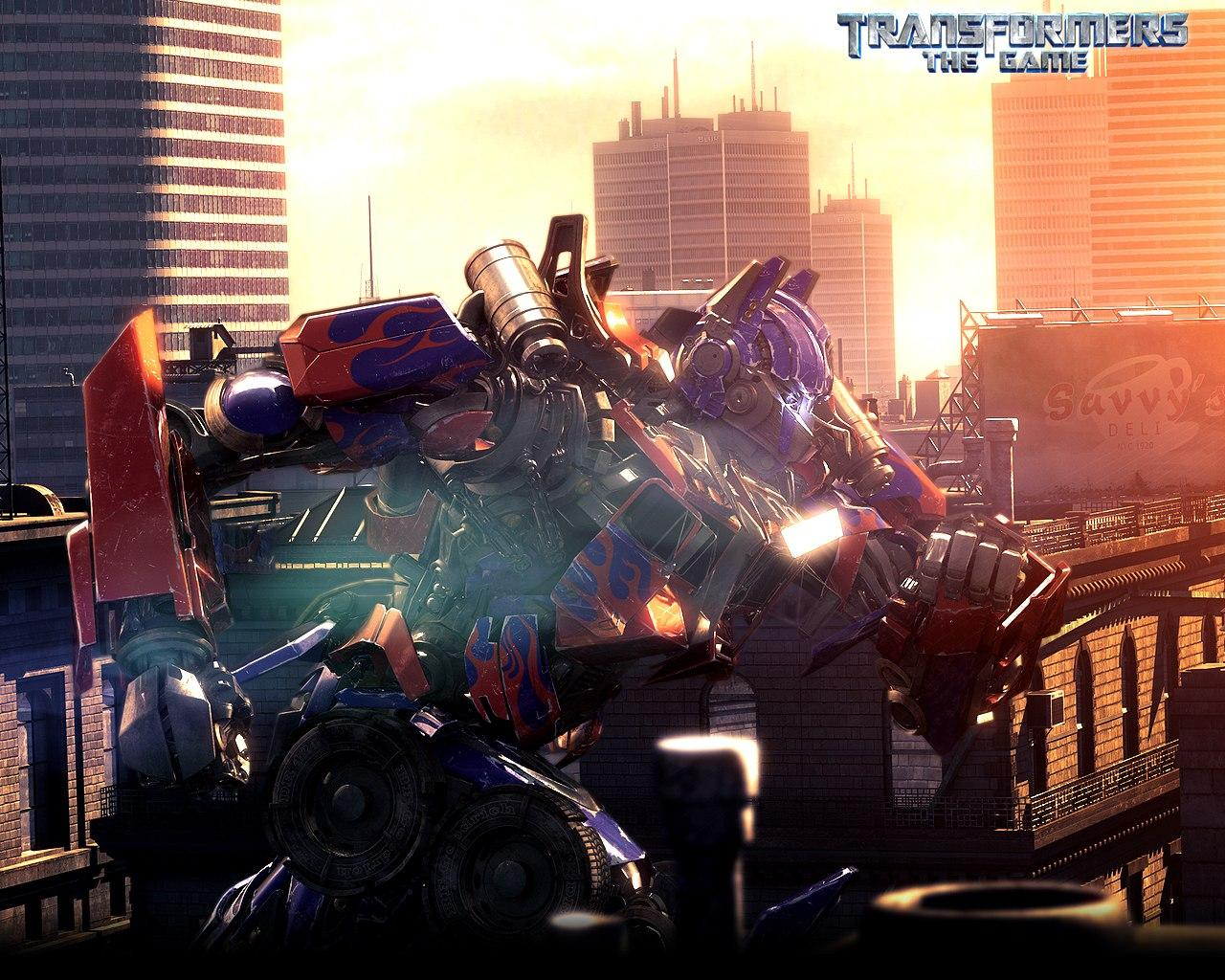 ���� Transformers The Game 1280x1024