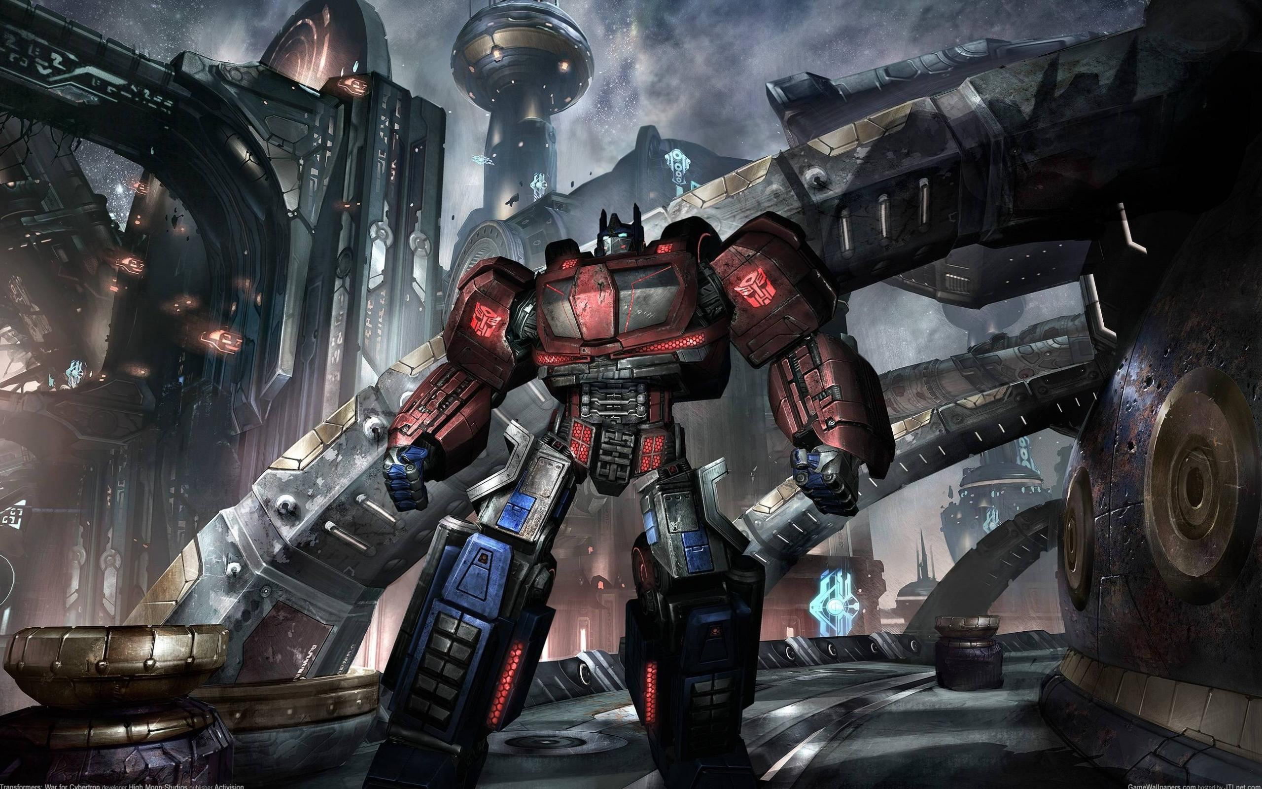 Обои Transformers: War for Cybertron 2560x1600