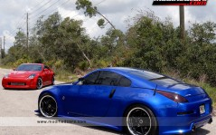 Two Nissan Twin 350Z Turbo / 1600x1200