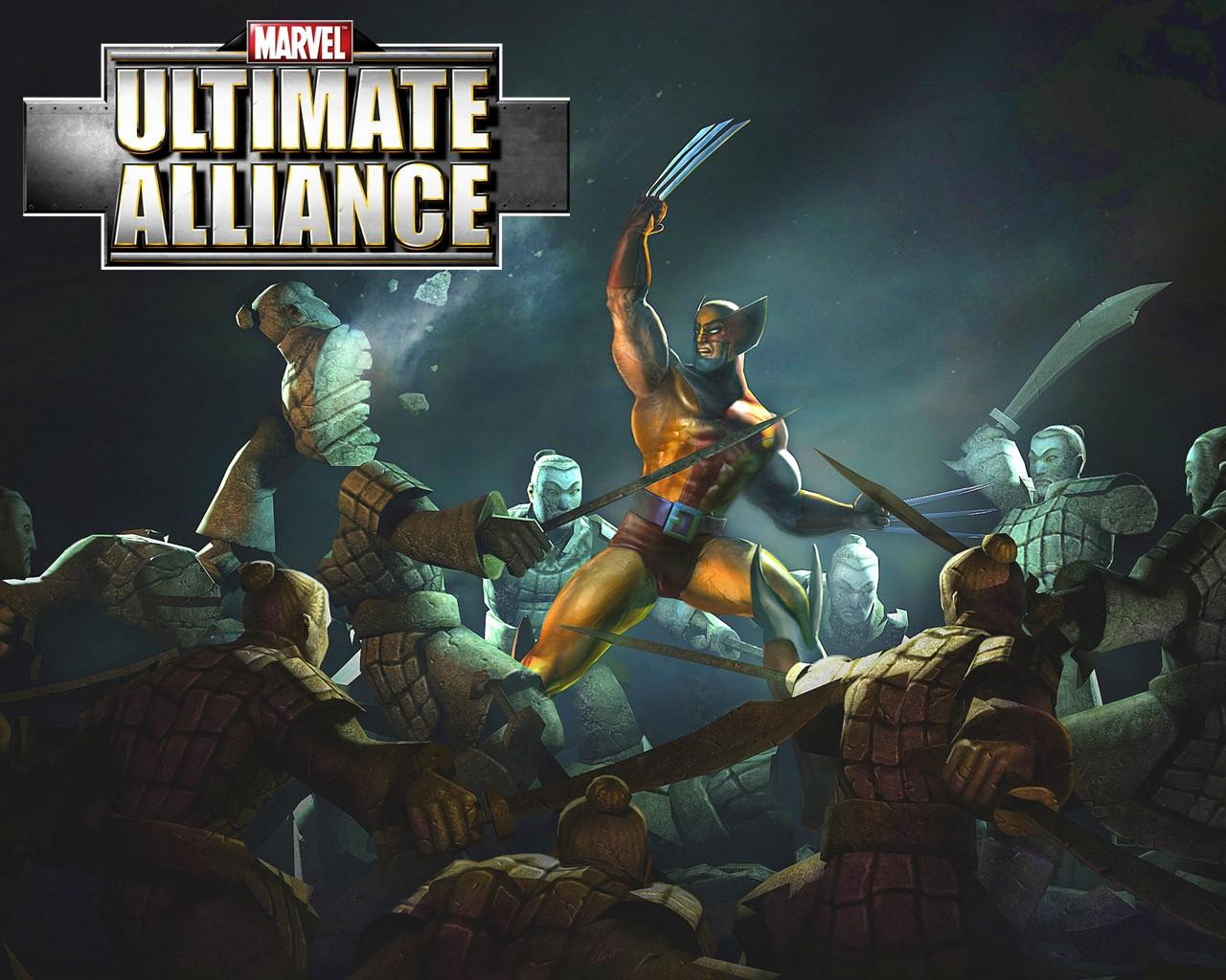 Обои Ultimate Alliance 1280x1024