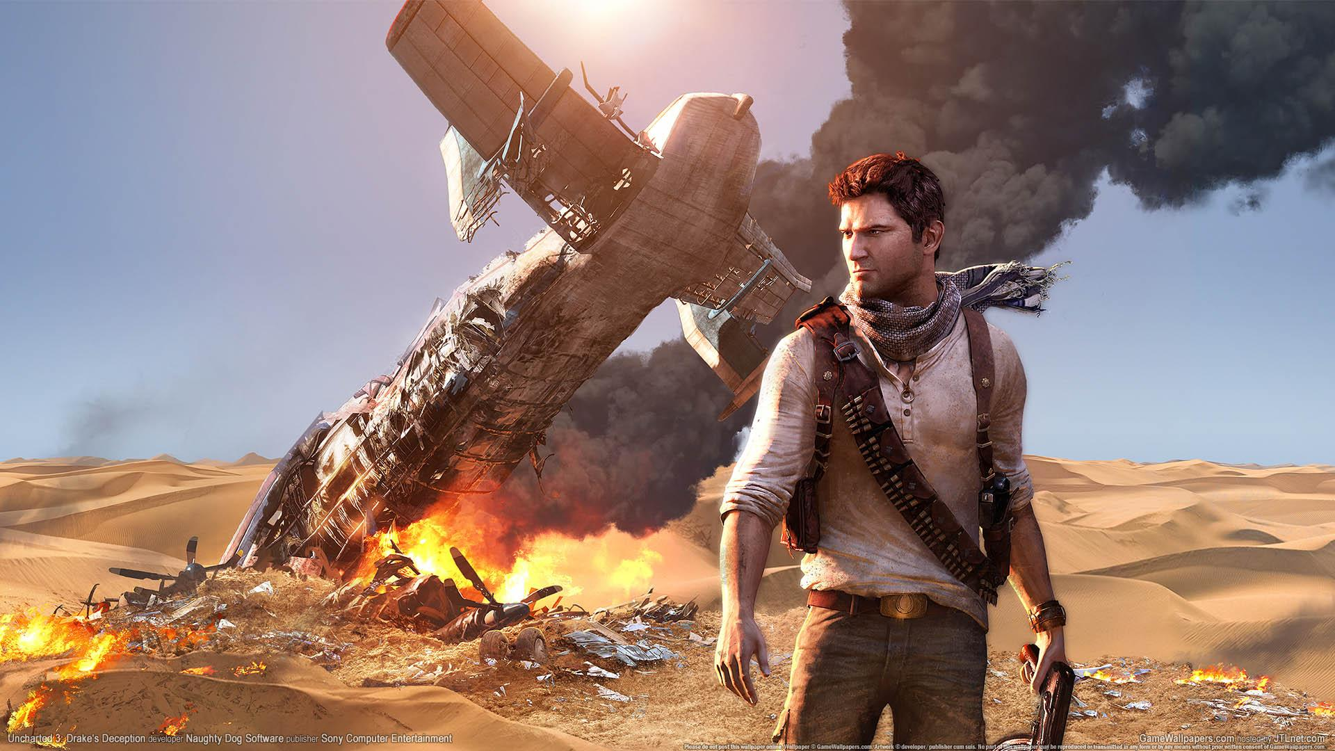 Обои Uncharted 3: Drake's Deception 1920x1080