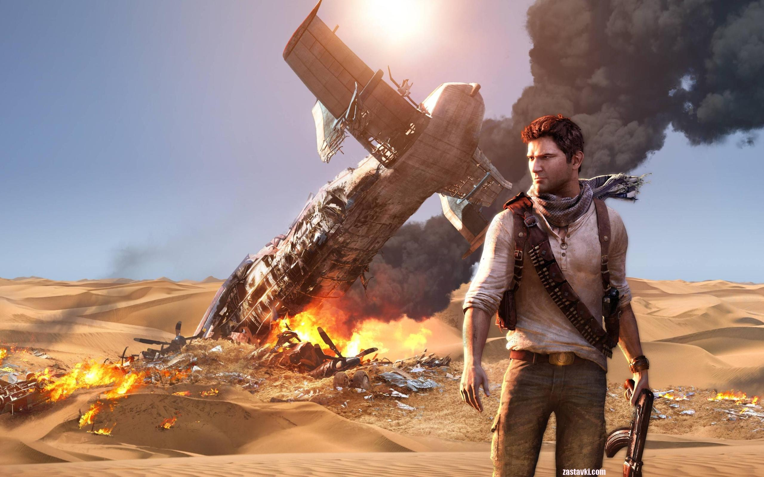 ���� Uncharted 3 Drakes Deception 2560x1600