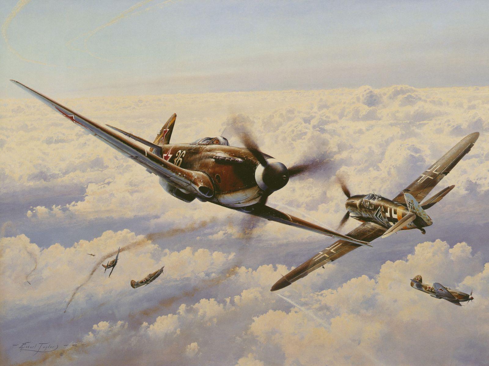 Воздушный бой вторая мировая война
