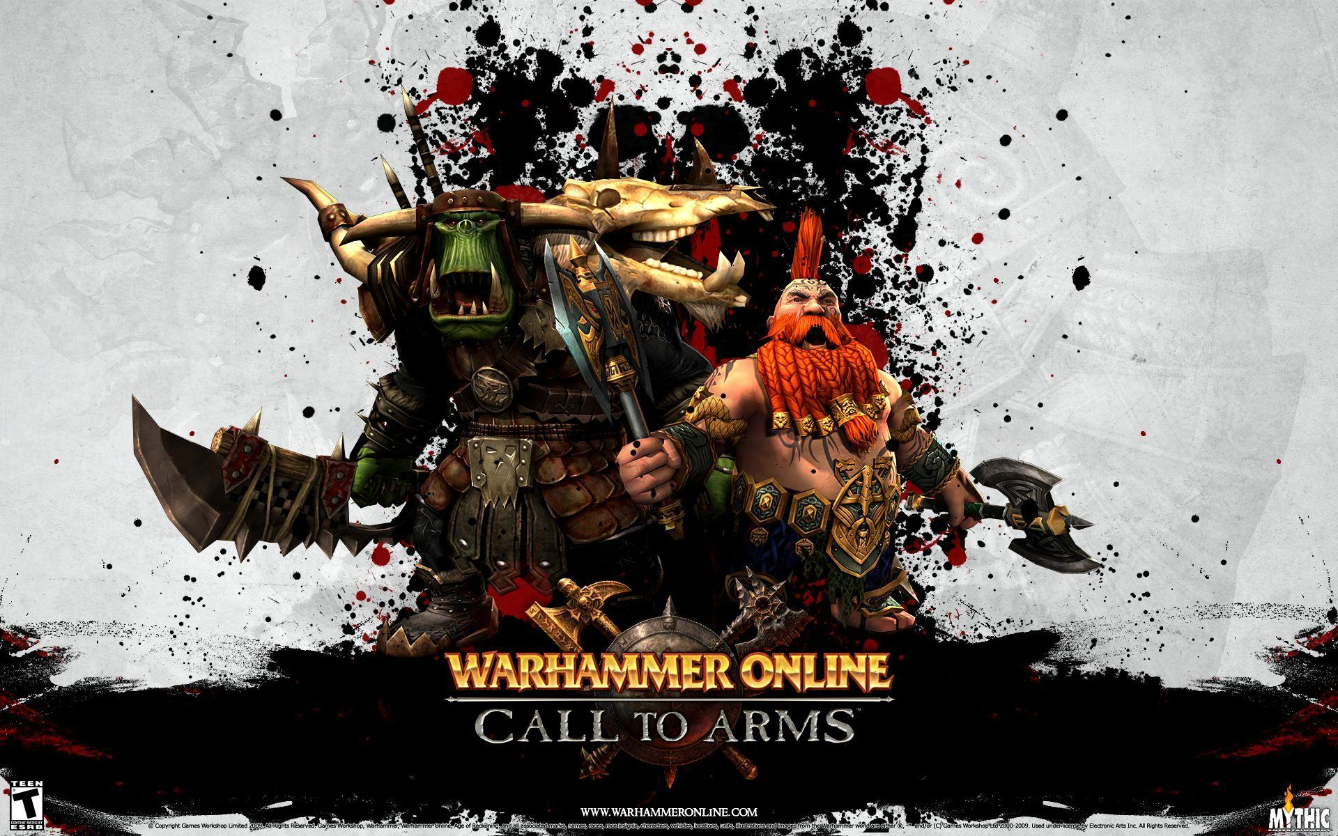���� Warhammer ���������� Call to Arms 1920x1200