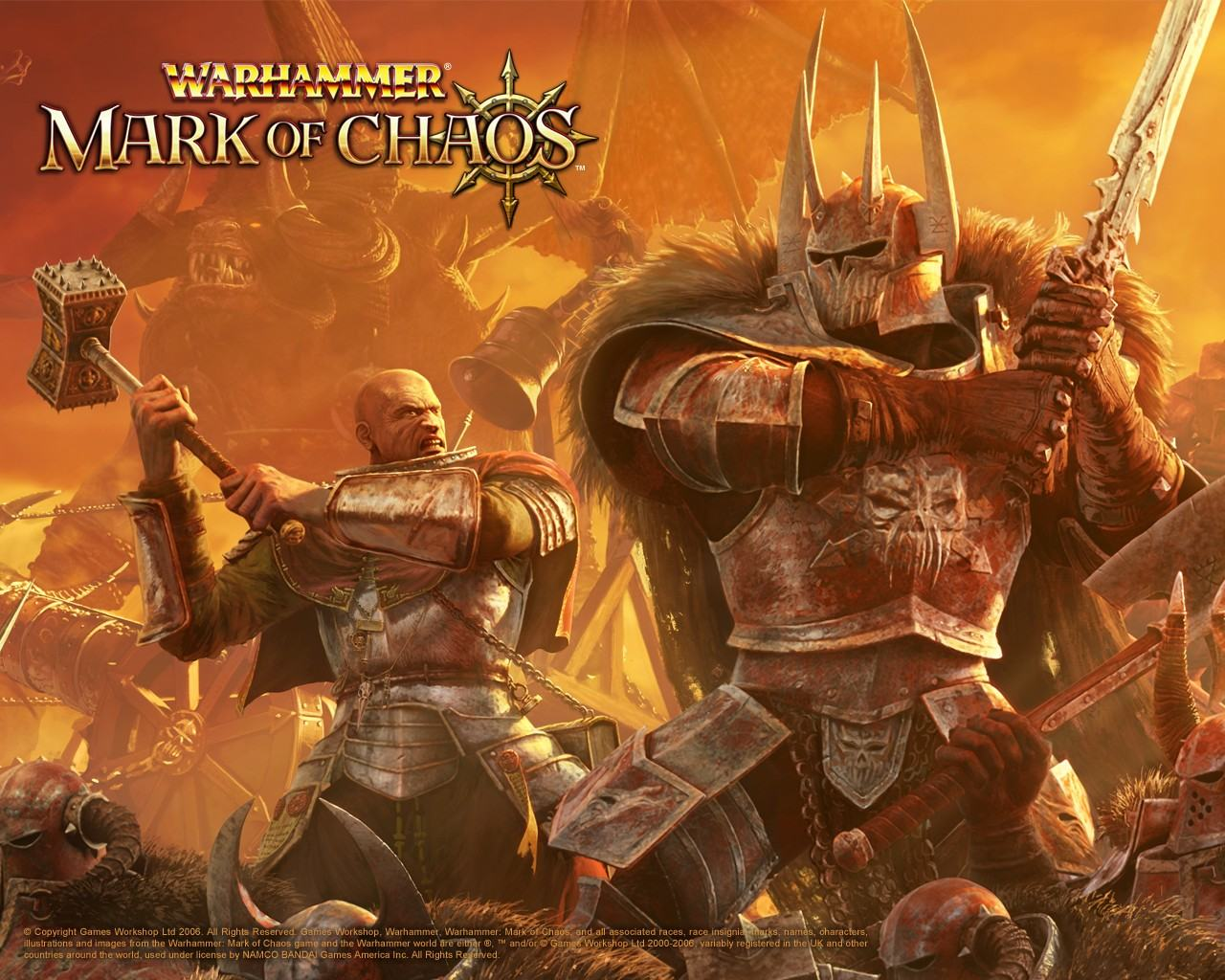 Обои Warhammer: Mark of Chaos 1280x1024