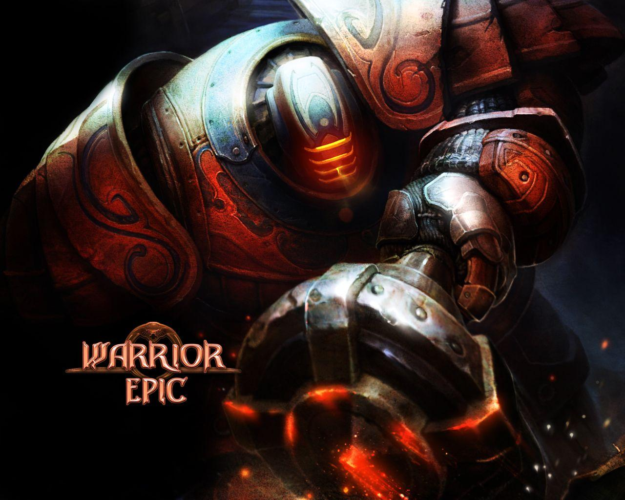 Обои Warrior Epic 1280x1024
