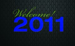 Welcome 2011 / 1600x1200