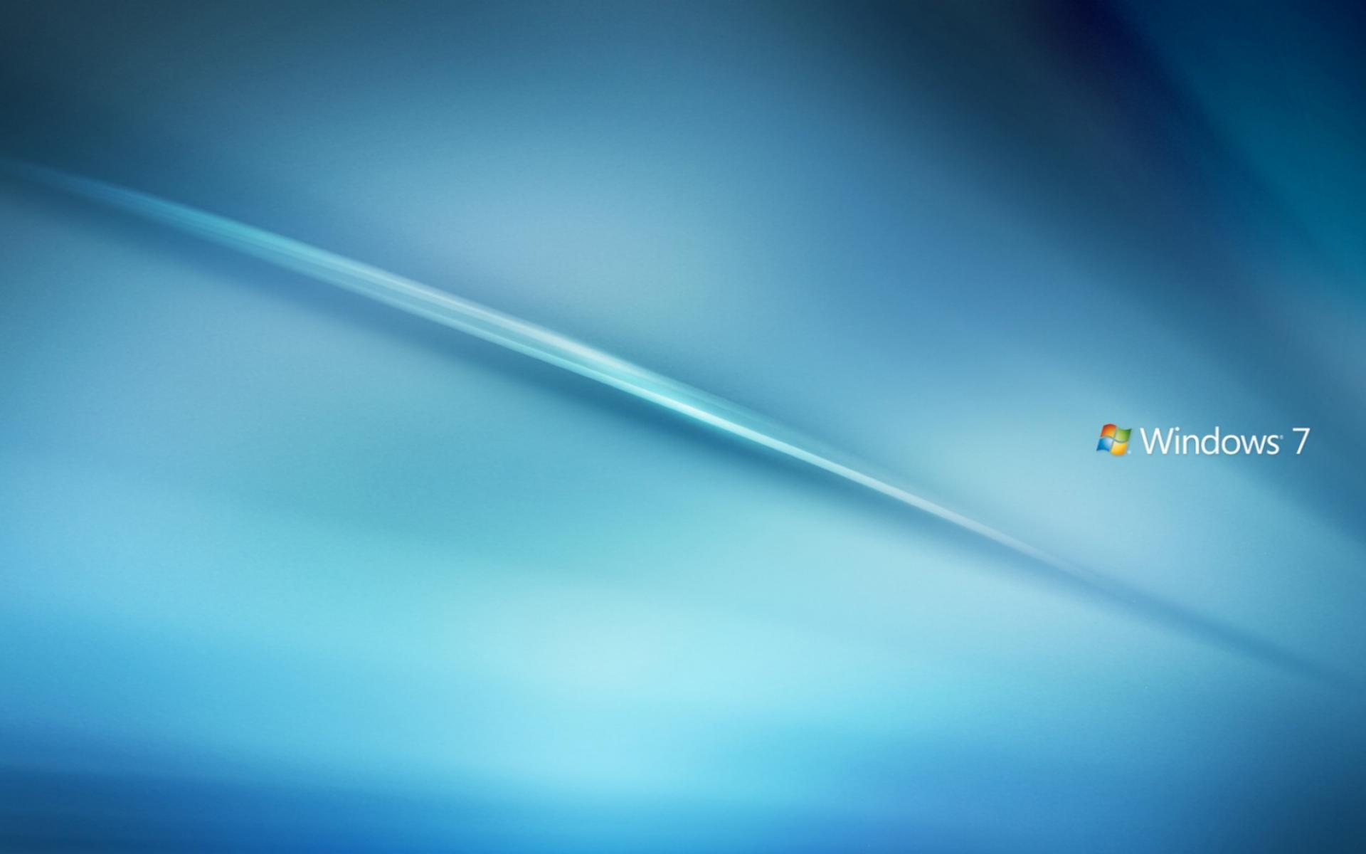 Обои Windows 7 Blue 1920x1200