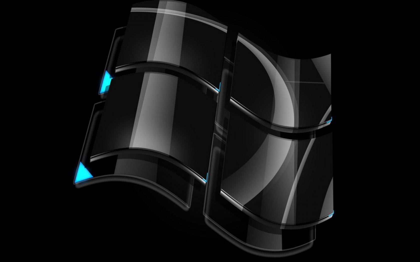 Обои Windows black 1680x1050