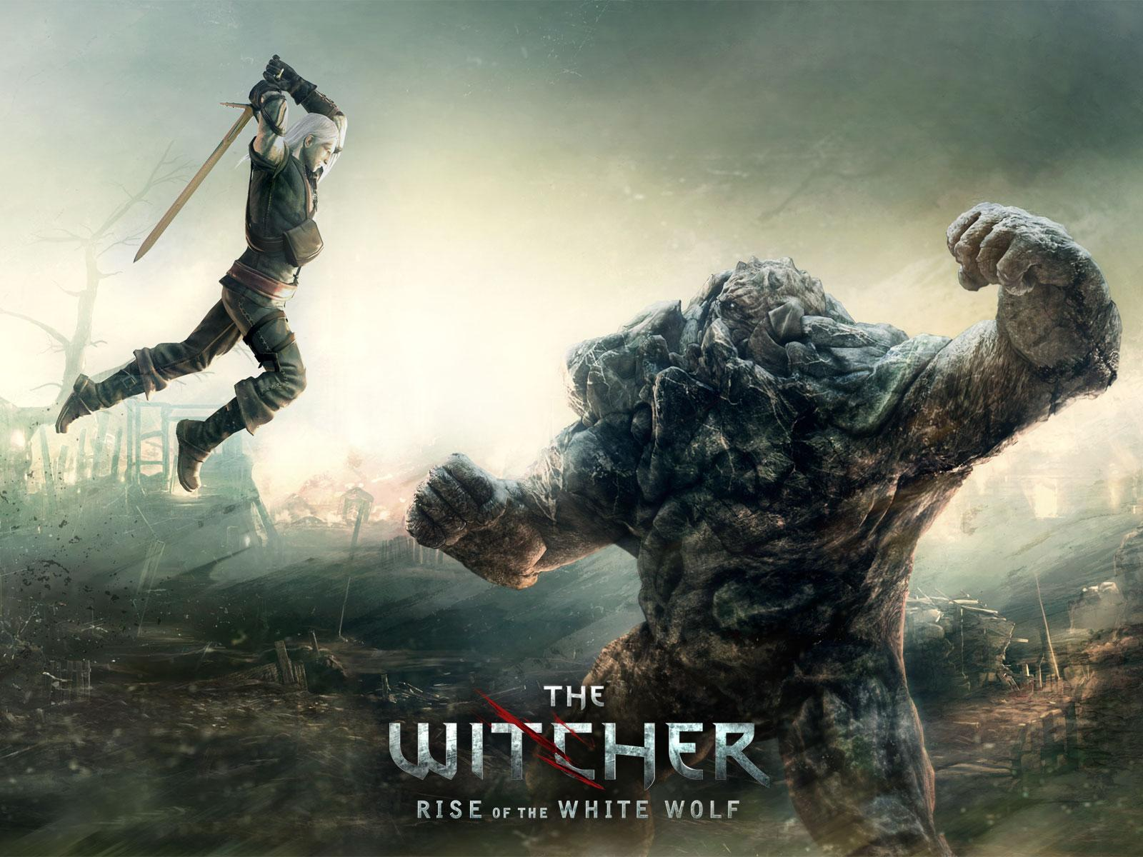 Обои Witcher: Rise of the White Wolf 1600x1200