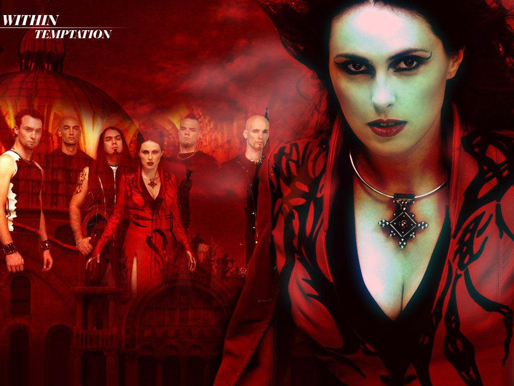 Обои Within Temptation 1024x768