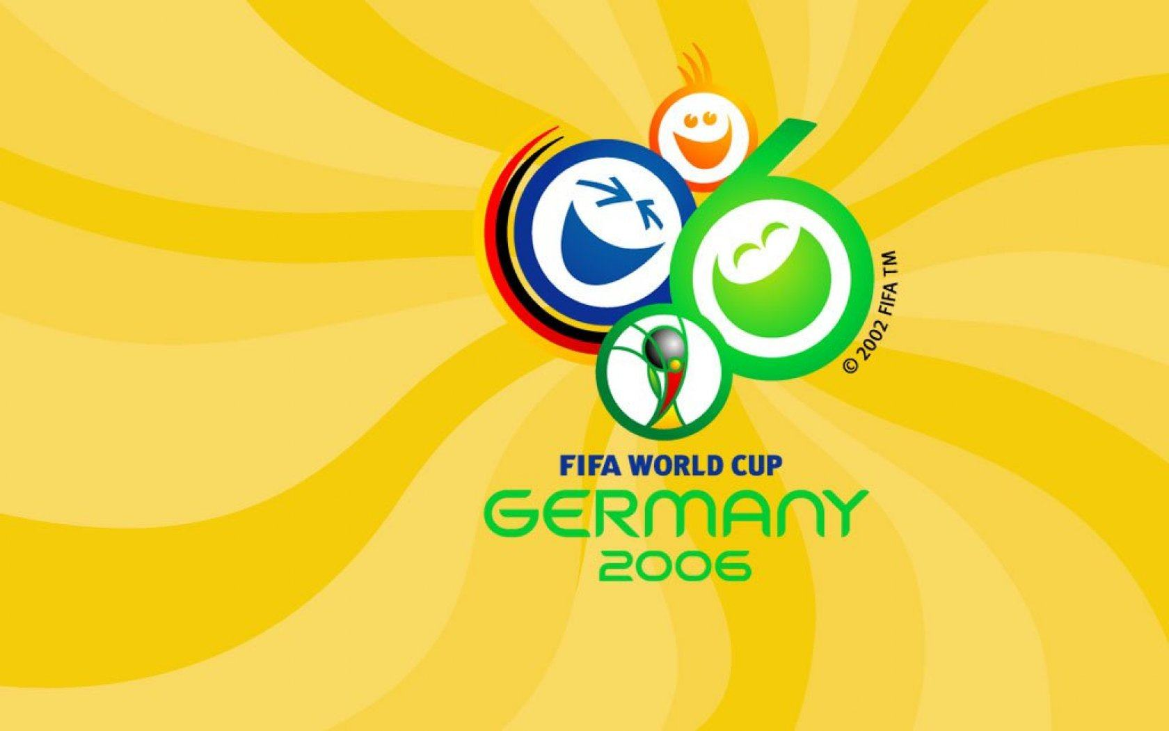 ���� World Cup Yellow 1680x1050