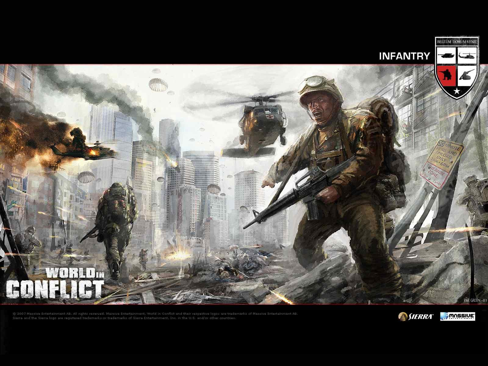 Обои World in Conflict 1600x1200
