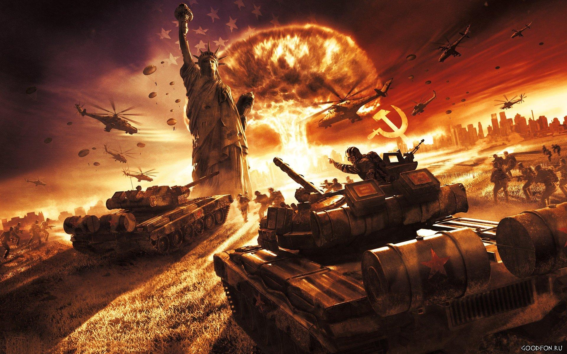Обои World in Conflict: Soviet Assault 1920x1200