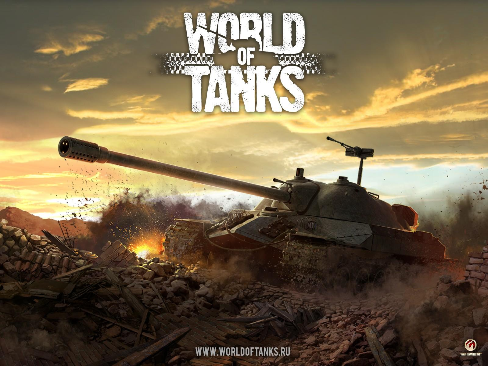 Обои World of Tanks 1600x1200
