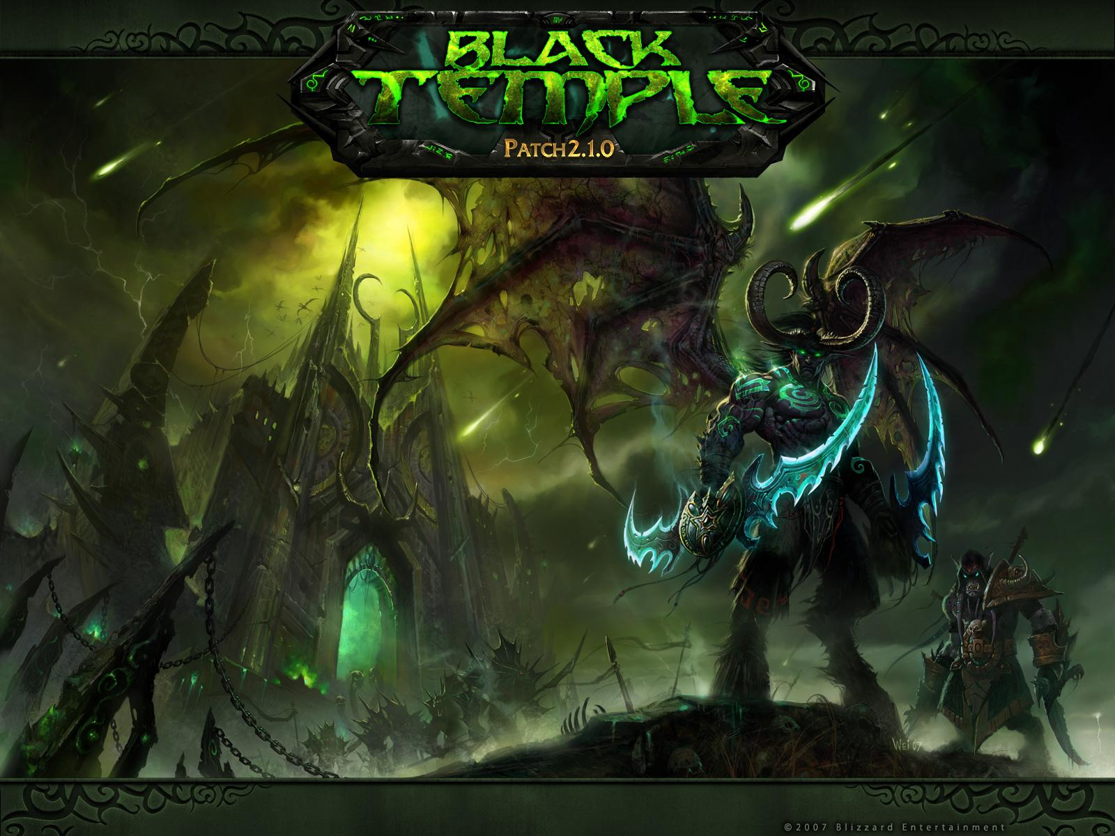 Обои World of Warcraft: Black Temple Patch 2.1.0 1600x1200