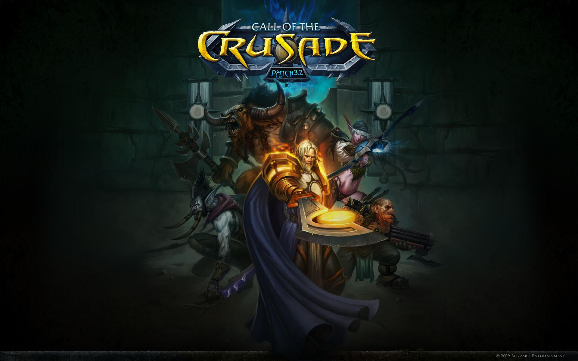 Обои World of Warcraft: Call of the crusade - patch 3.2 1920x1200
