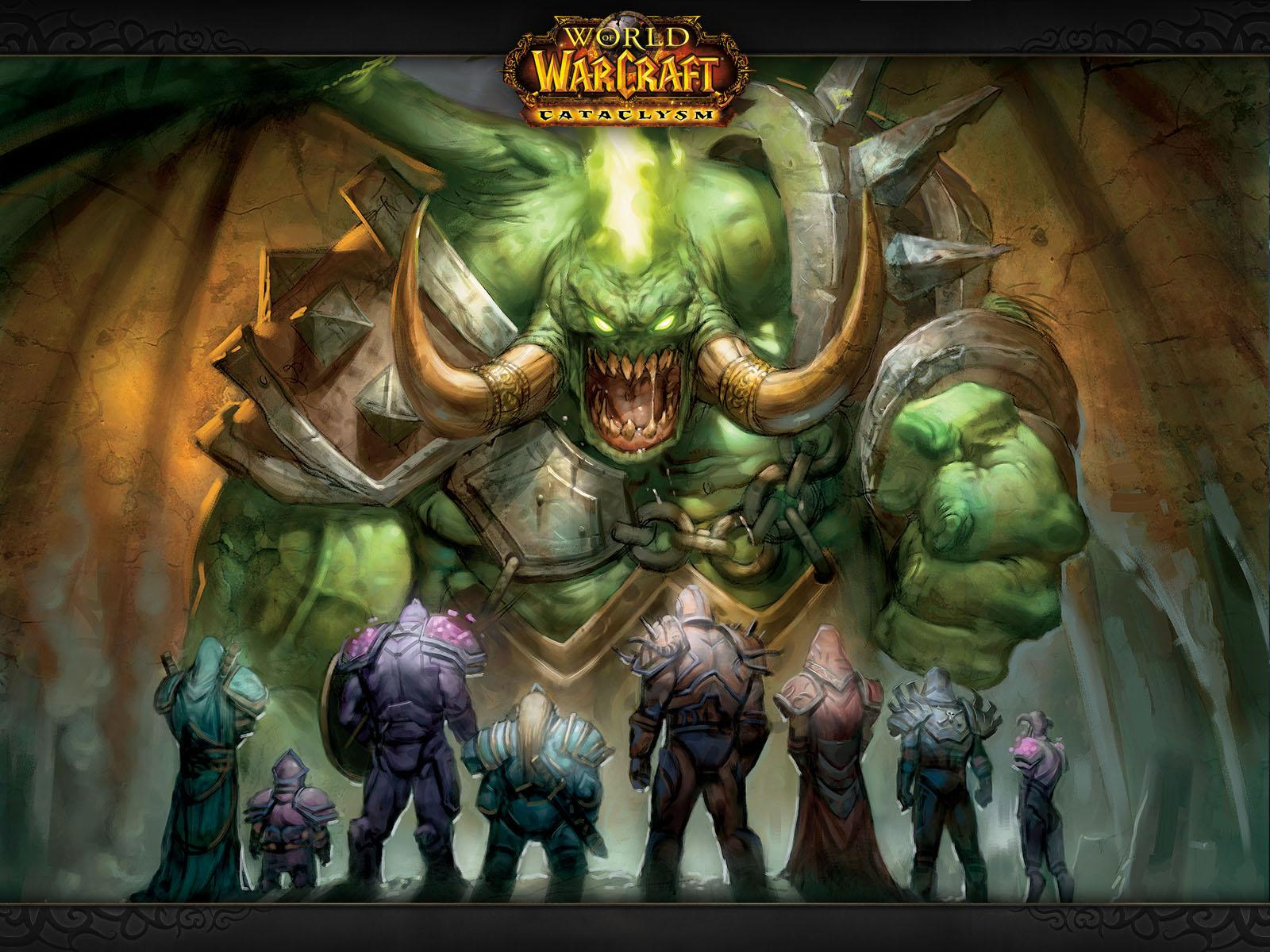 Обои World of Warcraft. Magtheridon 1600x1200