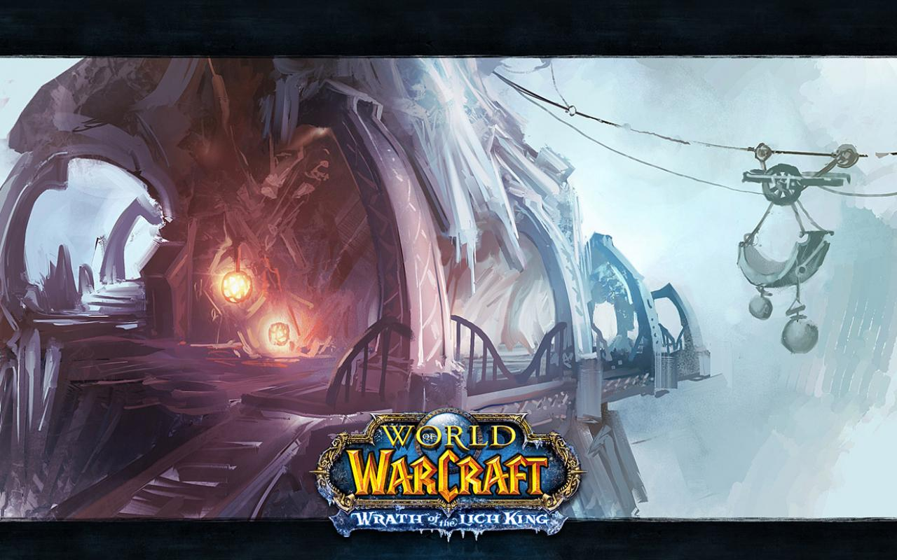 Обои World of Warcraft пикселей 1280x800
