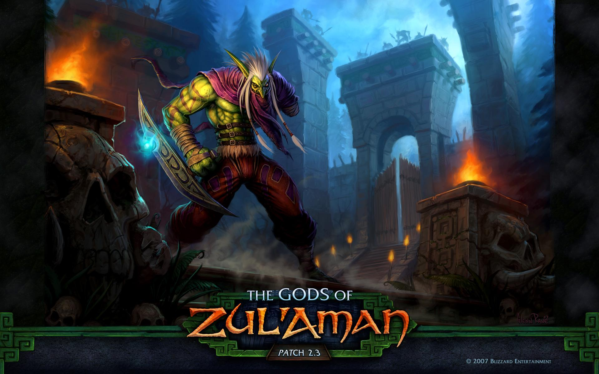 Обои World of Warcraft: The Gods of Zulaman 1920x1200