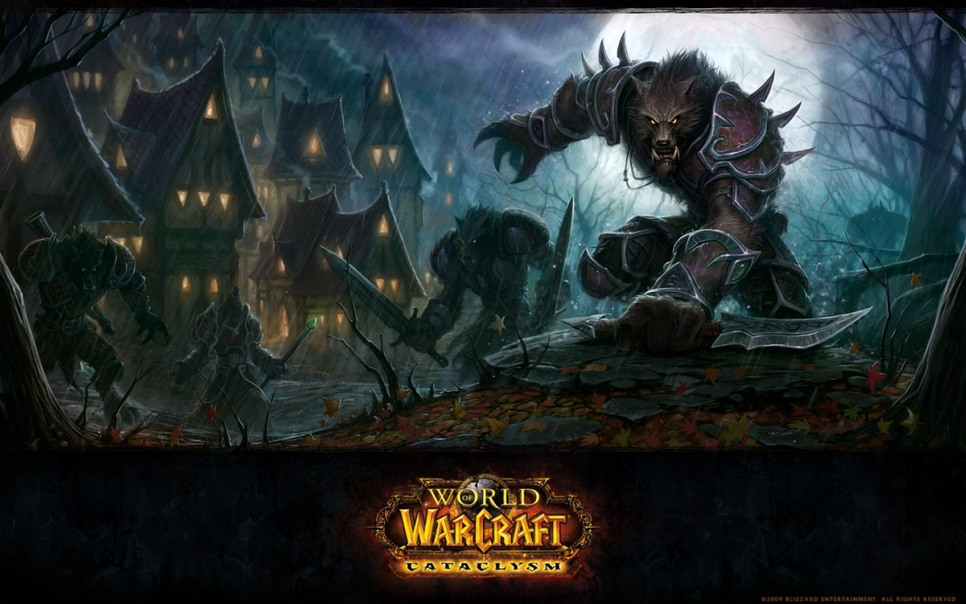 Обои WoW Cataclysm 1920x1200