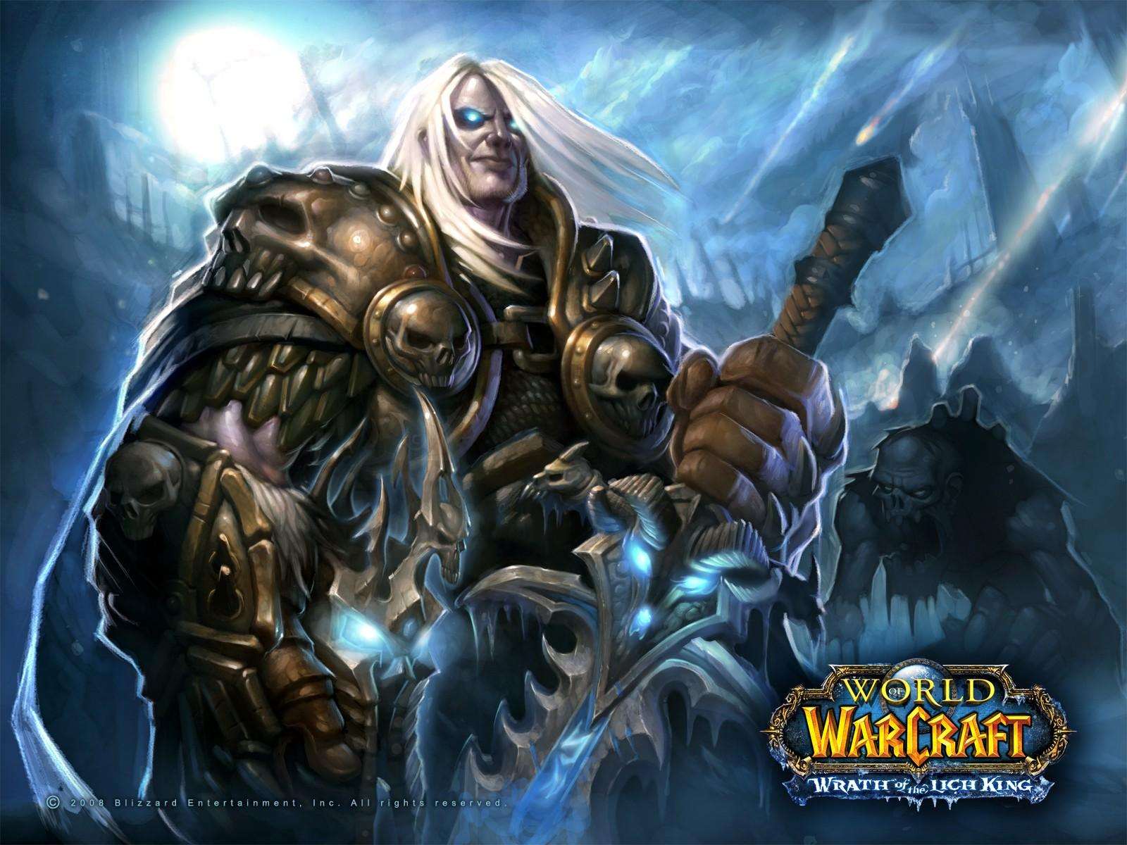 Обои WOW: Wrath of the Lich King 1600x1200