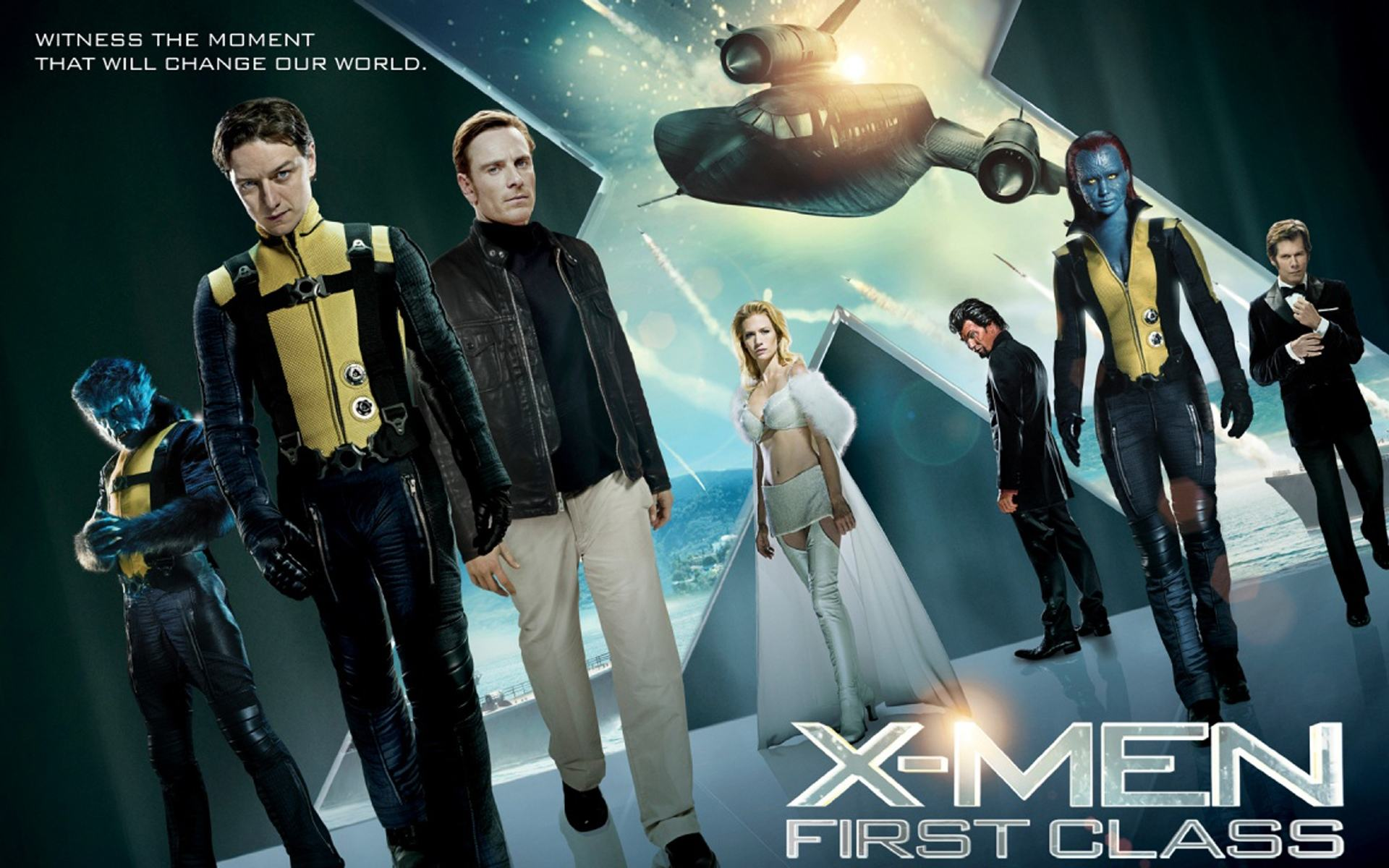 Обои X-Men, First Class 1920x1200