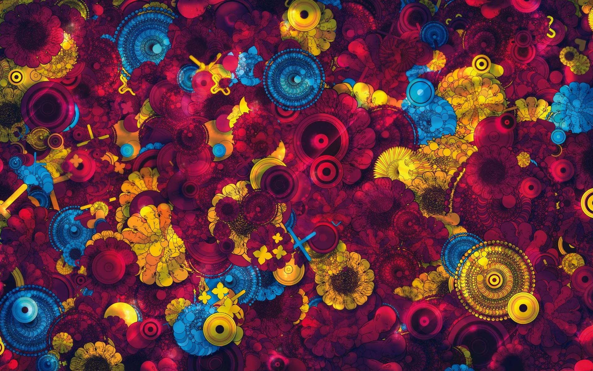 абстрактные картинки на рабочий стол
