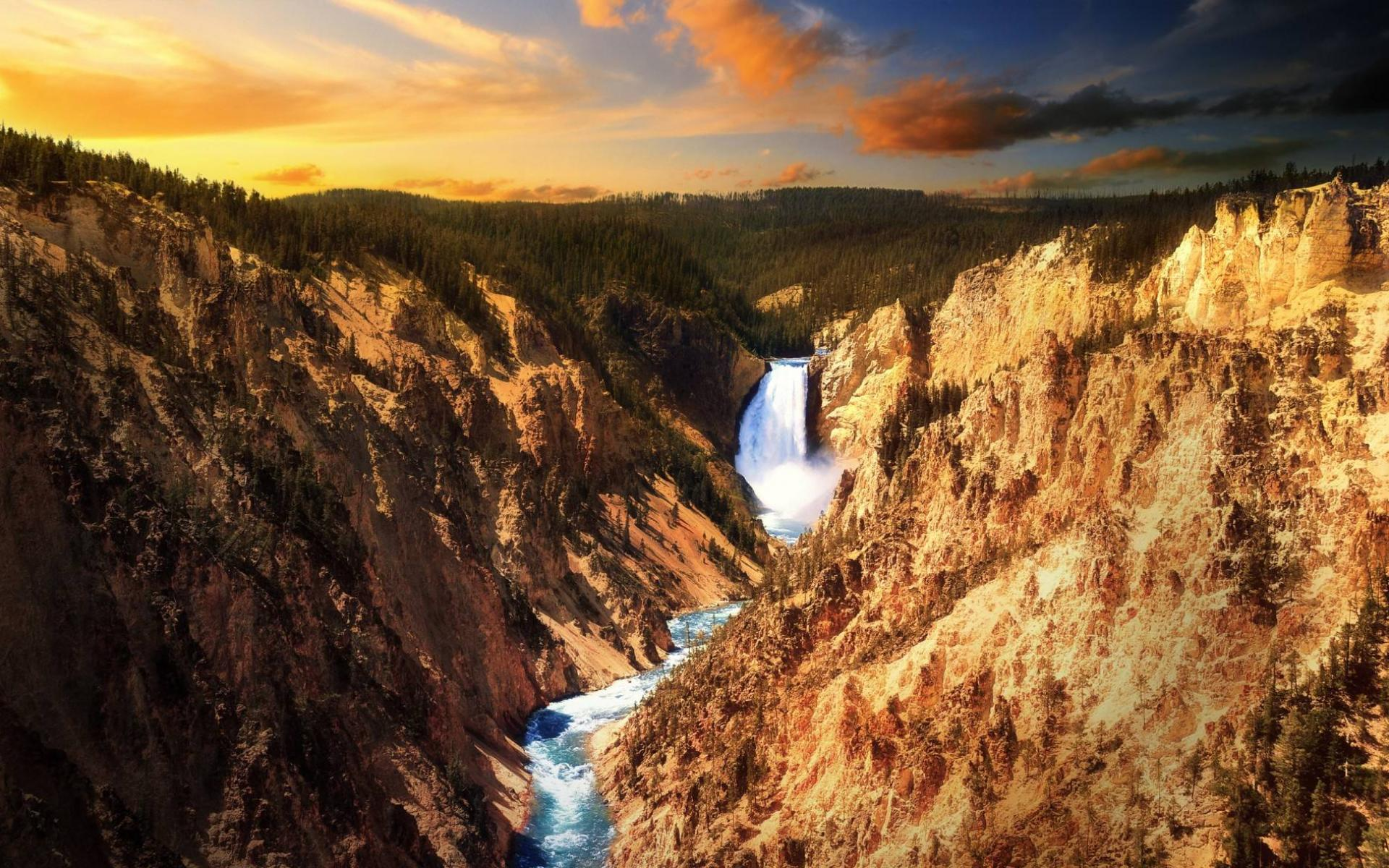 Обои Yellowstone National Park 1920x1200