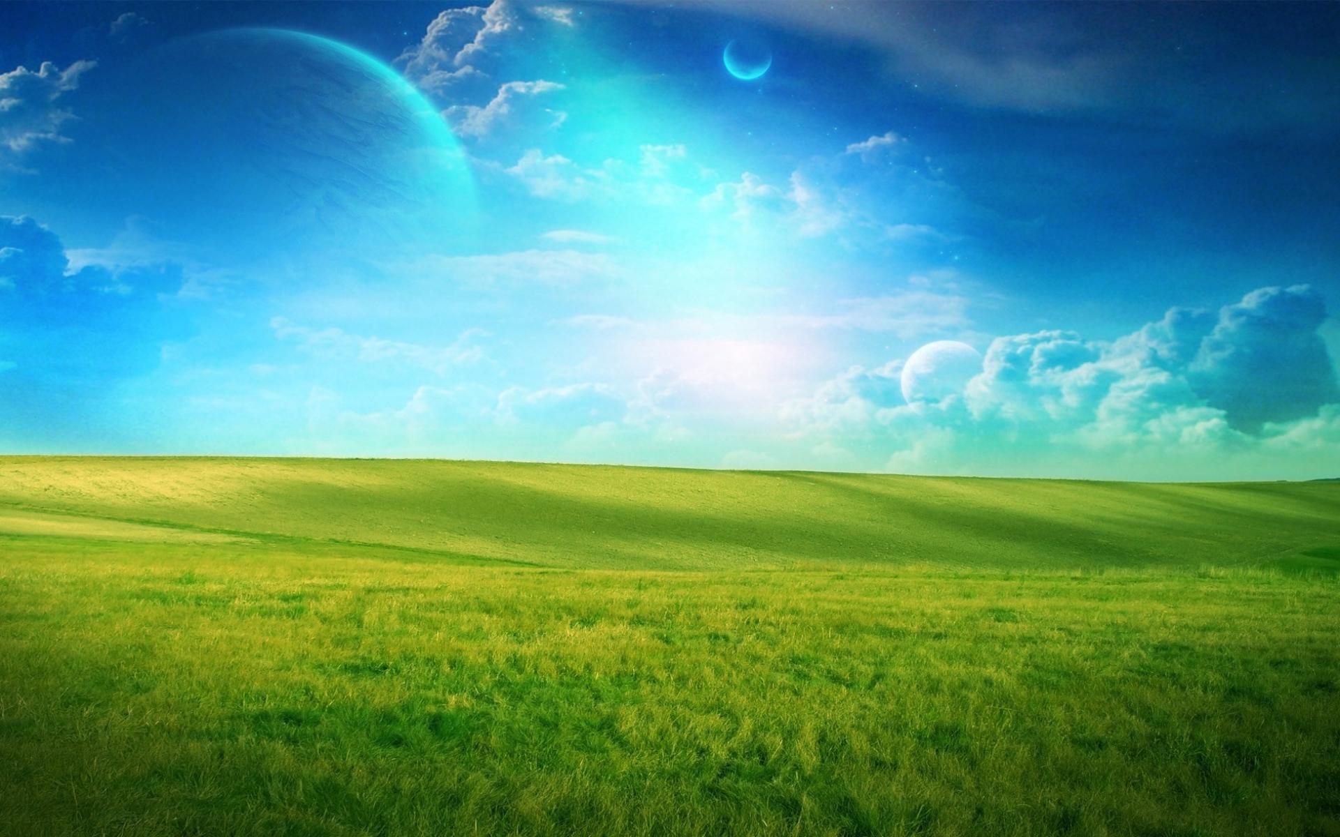Зеленые просторы - 16