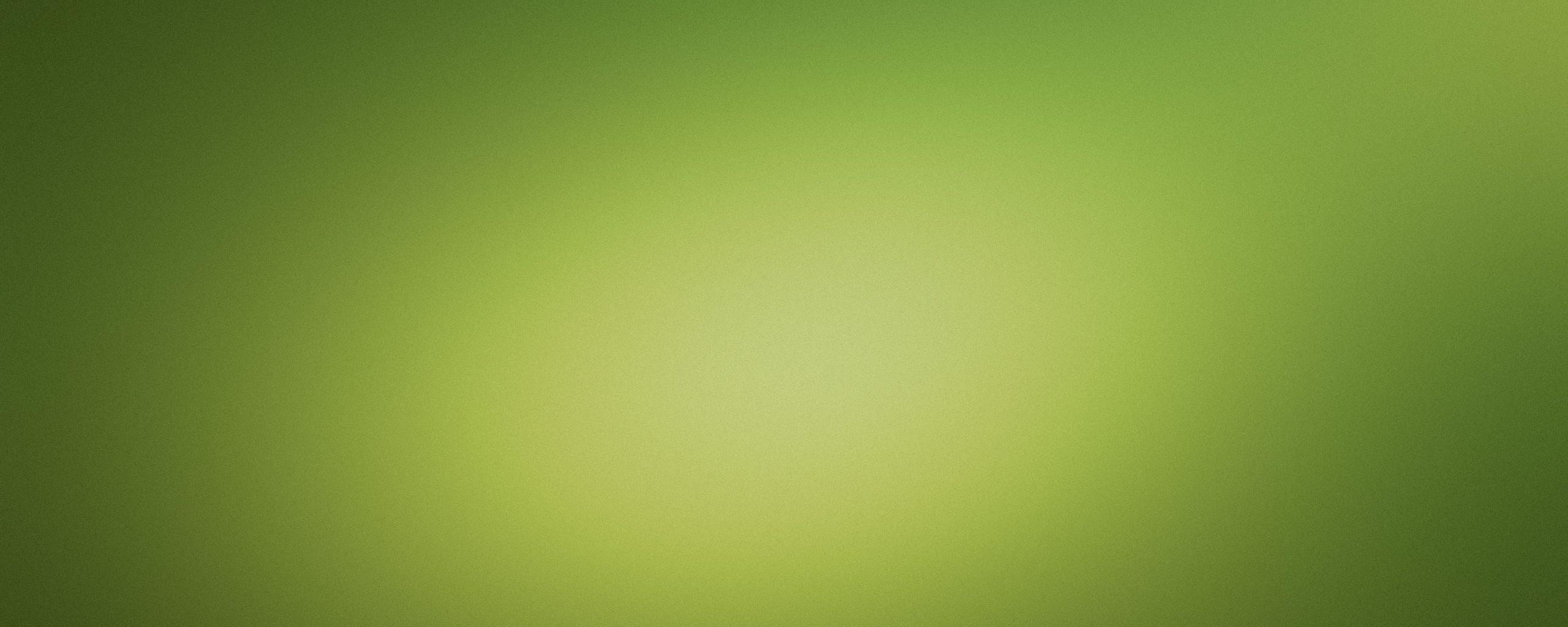 Скачать обои зеленый фон 2560x1024