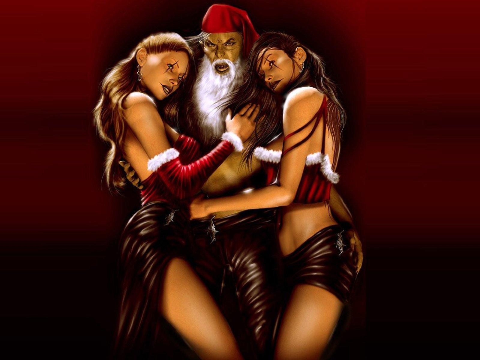 Santa evil sexy sexy video